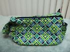 Vear Bradley Maggie Daisy Daisy Retired Small Purse Green Navy NWOT