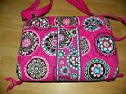 Vera Bradlley Bag to carry tablet or reader Pink Multi-Color