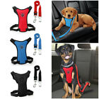 Soft Air Mesh Dog Car Harness Pet Puppy Vehicle Seat Belt Vest Small Large Dogs