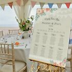 Personalised Wedding Table Plan • Seating Plan • Table Plan - LACE BUNTING