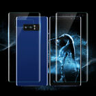 Fr Samsung Note 8 S8 S7 edge Clear Front Back PET Screen Protector Film Guard be