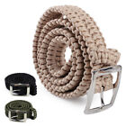 paracord survival belt - Outdoor Survival Tactical Paracord Belt Waistband Camping Emergency Cord 4x118cm