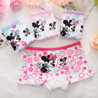 Внешний вид - Newborn Baby Girls Minnie Underwear Cartoon boxer children 100% Cotton panties