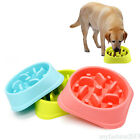 Slow Feeder Bowl Dog Pet Anti-Gulping Feed 3 Color Bowl Healthy Food Feeder CE3