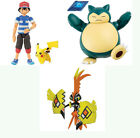 Tomy Pokemon Articulated Action Figure - Pikachu & Ash, Tapu Koko, Snorlax NEW