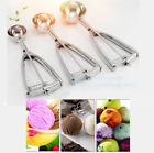 Внешний вид - 4/5/6cm Stainless Steel Ice Cream Mashed Potato Cookie Scoop Spoon Spring Handle
