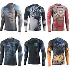 FIXGEAR CFL Compression shirt base layer skin tight under training  fitness 6