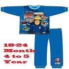 Toddler Boys Pyjamas Fireman Sam to the Rescue Pjs Official Kids 18 Months to 5Y