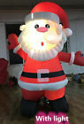 2m/3m Santa Claus Light Up Christmas Airblown Xmas Inflatable Outdoor Garden t