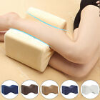 Memory Foam Leg Pillow Cushion Hips Knee Support Pain Relief Sleep With Cover