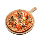 """7""""/8""""/9"""" Wooden Pizza Making Peel Pizzeria Bake Paddle Lifter Kitchen Tool New"""