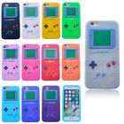 3D Shockproof Gameboy Silicone Back Case Skin Cover for iPhone 6/6s 7 8 Plus X