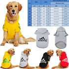 Внешний вид - Large Breed Dog Sweater Jacket Dogs Pet Winter Medium Warm Hoodie Adidog Sport