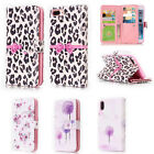 Practical Flip PU Leather 9 Card Slots Wallet Phone Case Cover For LG Xpower