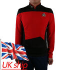 Star Trek Red Shirt Starfleet Operations Uniform Star Trek TNG Cosplay Uniform on eBay