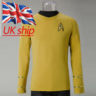Cosplay Star Trek Captain Kirk Shirt Uniform TOS The Original Series Costume New on eBay