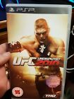 Replacement Case and Booklet for UFC Undisputed 2010 NO GAME- PSP - FREE POST