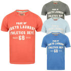 Tokyo Laundry Mens Henryville T-Shirt Short Sleeve Lightweight Crew Neck Top