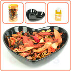 Orange Potpourri Heart Gift Set - Orange Pot-Pourri, Bowl & Scented Oil