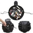 Portable Travel Makeup Drawstring Bag Toiletry Case Wash Organizer Storage Pouch