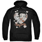 BETTY BOOP CLASSIC KISS Men's Hoodie Pull-Over $41.99 USD