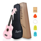 Apelila 21 inch Wood Soprano Ukulele Mini Guitar Musical Beginner with Carry Bag <br/> ♪ ONLY $19.99 ♪ Fast Free Delivery ♪ Wonderful Sound ♪