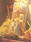 CROSS STITCH PATTERN,STOCKING CHRISTMAS IN THE MANGER NATIVIY FLAT RATE SHIPPING