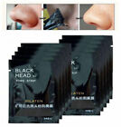 Blackhead Face Mask 10Pcs Peel-Off Cleansing Facial Black Charcoal Remover