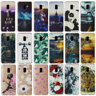 For Samsung Galaxy A8 2018 A3 A5 A7 2017 Silicone Slim Painted TPU Case Cover