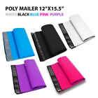 12x15.5 Poly Mailers Shipping Envelopes Self Sealing Plastic Mailing Bags Color