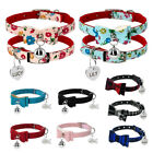 Bowknot Small Dog Cat Collars Bowtie with Personalized Tag&Bell for Kitten Puppy
