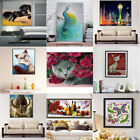 7cz cat - 5D Animals Flower Diamond Painting DIY Embroidery Cross Stitch Kit Craft Decor
