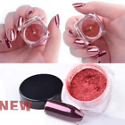 2g Rose Gold Mirror Effect Fine Dust Nial Art Powder Chrome Pigment Decorations