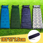 camping sleep mat - Self Inflating Camping Pad Mat Hiking Cushion Bed Sleeping Backpacking Tent LOT