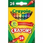 Crayola Classic Color Crayons, Assorted, 24/Pack (CL52-3024), Nontoxic, New !