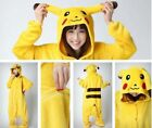 Adult Kids Pikachu Pokemon go Unicorn Costume Kigurumi Animals Fleece Pyjamas