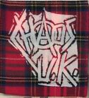 PUNK CRUST HARD CORE PATCHES -hard anarcho grind industrial metal rock n roll