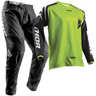 NEW THOR 2018 SECTOR ZONE BLACK LIME Youth Jersey Pant Outfit MX Moto Kids Gear