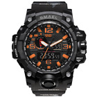 SMAEL Waterproof Sports Military Camo Watches Men's Analog Quartz Digital Watch