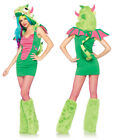 Sexy Puff the Magic Dragon Womens Costume sz XS 0-2