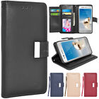 For LG Aristo / Phoenix 3 / Fortune / LG K8 2017 Leather Wallet Flip Case Cover