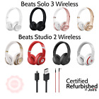 Beats by Dre Solo 3 OR Studio 2 Wireless On Ear Headphones Matte Black Rose Gold
