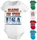 Funny Baby shirt Bodysuit Infant toddler Cute Diaper Crib Shower party Gift