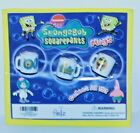 Nicelodeon Sponge Bob Squarepants Mini Mugs set of 3 Sealed 2002