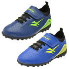 Infants Gola Apex Vx Boys Girls Indoor Astro Turf Touch Fastener Football Boots