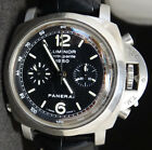 Panerai Lumunor 1950 44mm Chrono Rattrapanta Watch