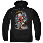 Betty Boop Country Star Pullover Hoodies for Men or Kids $26.39 USD