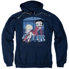 Betty Boop Moonlight Pullover Hoodies for Men or Kids $26.39 USD