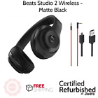 Original Beats by Dr. Dre Studio 2.0 Wireless Headband Headphones - Matte black