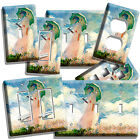 light painting video - CLAUDE MONET WOMAN WITH A PARASOL PAINTING LIGHT SWITCH OUTLET PLATE ROOM DECOR